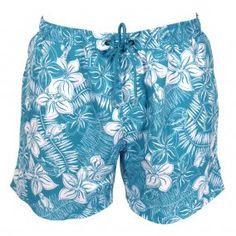 HUGO BOSS Turquoise Piranha Swimming Shorts