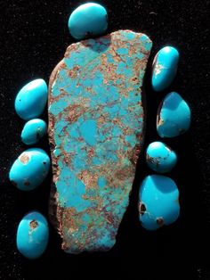 Vintage Turquoise, Turquoise Jewelry, Turquoise Bracelet, Gem Stones, Stones And Crystals, Bisbee Turquoise, Pyrus, Navajo Jewelry, Southwestern Jewelry