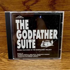 The Godfather Suite Cd music featured in the trilogy 1975 1991 14 tracks music Cds For Sale, Cd Music, The Godfather, My Ebay, Shop, Store