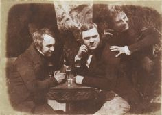 The world's first photo of people getting drunk.