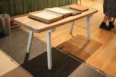 Oak Top Work Table