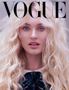 Candice Swanepoel by Mariano Vivanco for Vogue Mexico