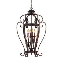 View the Millennium Lighting 1218 Oxford 8 Light Pendant at Build.com.
