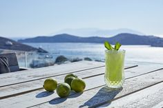 Wishing it was summer so that we could enjoy a frozen mojito by the pool with this view!