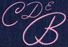 457 Exquisite Satin Font - Jolson's Designs