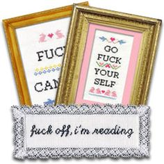 Subversive Cross Stitch - They have some great patterns/kits at this store.