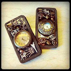 Pocket watch iPhone case.