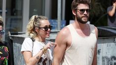 New story on InStyle: Miley Cyrus and Liam Hemsworth Adorably Hold Hands While Grabbing Lunch with His Parents #fashion #fashionnews #instyle