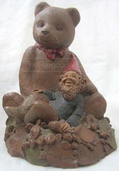 shopgoodwill.com: 017 - Tom Clark `Ben` Bear Gnome Tom Clark, Gnomes, Fairies, Teddy Bear, Toys, Life, Animals, Faeries, Activity Toys