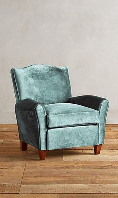 Slub Velvet Corbetta Chair - inspired by the 2016 Paint Color of the Year Paradise Found, a soft green hue by PPG Voice of Color! Anthropologie Furniture, Anthropologie Home, Unique Furniture, Home Furniture, Furniture Design, Velvet Furniture, Furniture Chairs, Upholstered Chairs, Wingback Chair