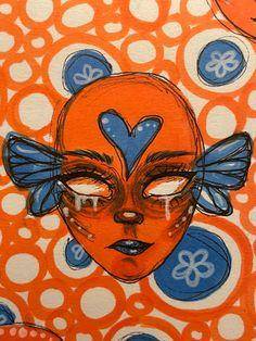 Small Canvas Art, Mini Canvas Art, Art Journal Inspiration, Art Inspo, Arte Hippy, Arte Indie, Psychadelic Art, Trash Art, Funky Art