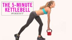 Start your morning off right with this quick, 5 minute kettlebell workout.