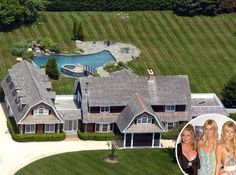 The Hiltons from Celebrity Mega Mansions Having a house in the Hamptons is an absolute necessity for the rich-and-famous. Naturally, the Hiltons went all-out when they purchased their Hampton estate, complete with seven bedrooms and eight bathrooms. Celebrity Mansions, Celebrity Houses, Hamptons House, The Hamptons, Three Story House, Mega Mansions, Luxury Mansions, Mansions Homes, Townhouse