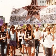 BISEXUAL PRIDE – GAY LIBERATION IS OUR LIBERATION