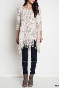 Frayed Ways Sweater