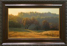 Last Golden Light by Kevin Courter Oil ~ 14 x 24