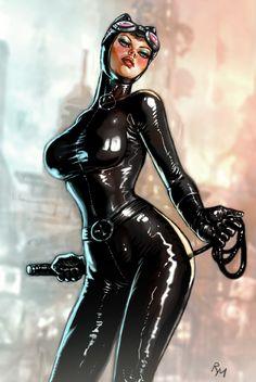Catwoman ht0051 by RaffaeleMarinetti.deviantart.com on @deviantART