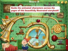 Alph and Betty's Topsy Turvy World - a storybook with puzzle and game elements focusing on the alphabet, letter recognition and early reading. Original Appysmarts score: 95/100!