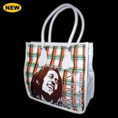 BOB MARLEY RASTA PLAID BAG  $64.99
