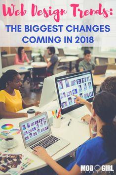 Web Design Trends: The Biggest Changes Coming in 2018 via @mandymodgirl
