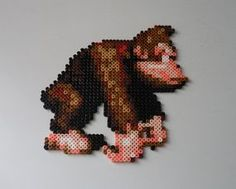Donkey Kong Country BeadSprite by monochrome-GS.deviantart.com on @DeviantArt