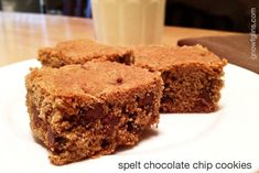 LOVE this recipe! I have done this recipe as regular cookies (bake on 375 for 9-11 minutes). So much better than the junk filled store bought type!
