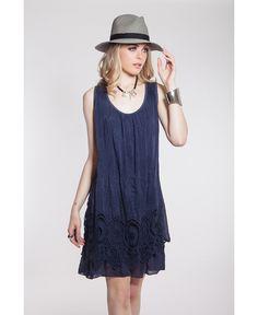 Verano azul Closé Vestido Milao #moda #verano #azul