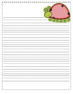 These spring themed writing papers are a cute addition to your writing center! Happy Teaching!!!...