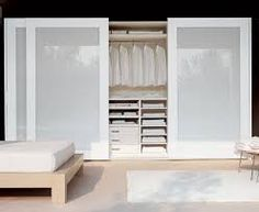 Resultado de imagen para closet con puertas de acrilico