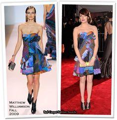 2009 - Emma Stone in Matthew Williamson