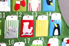25 Days of Christmas and Our Advent Calendar | Natty by Design