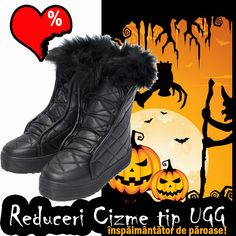 Reduceri cizme tip UGG inspaimantator de paroase si de calduroase! | Outlet online