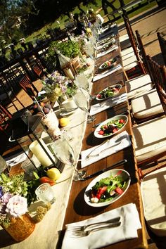 I would definitely do this if I would ever consider an outdoor wedding... But looove the chairs. I want that style of chair.