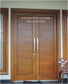 27 Ideas Double Door Design Entrance Woods For 2020 Main Entrance Door Design, Wooden Front Door Design, Double Door Design, Wood Front Doors, Entrance Doors, Wooden Double Doors, Modern Wooden Doors, Modern Front Door, Home Door Design