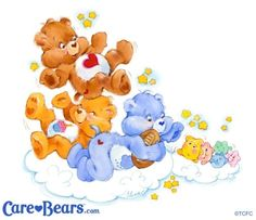 """apparently you guys love the """"vintage care bears"""" as it get more notes…"""