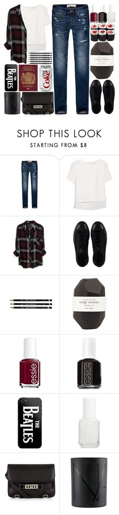 """""""123. We Can Sing Just Like Our Fathers"""" by raelee-xoxo ❤ liked on Polyvore featuring Abercrombie & Fitch, MANGO, Rails, Converse, Pelle, Essie, Proenza Schouler, NARS Cosmetics, raeleespenguin and amberzoelookhere"""