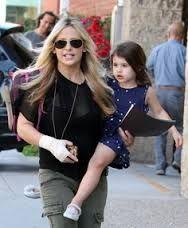 Sarah Michelle Gellar and daughter Charlotte #dots