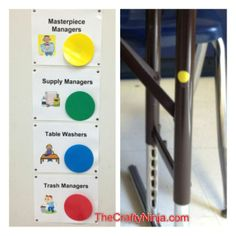 art classroom managers