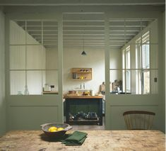 The World of Interiors Magazine November 2016 Stuart Shave's London home. Photographed by Jan Baldwin. Kitchen Interior, New Kitchen, Kitchen Decor, Industrial Style Kitchen, Vintage Industrial, Interior Architecture, Interior Design, Interiors Magazine, World Of Interiors