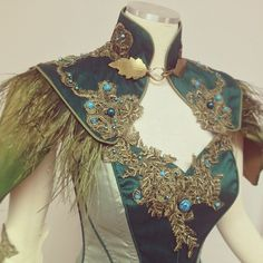 LARP costumeWoodland Realm attire fit for an earthy warrior queen - LARP costume Fantasy Costumes, Cosplay Costumes, Fun Costumes, Warrior Queen, Fantasy Dress, Fantasy Outfits, Looks Style, Costume Design, Beautiful Outfits