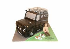 Country Landrover cake