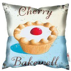 Cherry Bakewell - Martin Wiscombe - Art Print Cushion