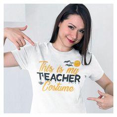 Teacher Halloween Shirt | Teacher Halloween T-Shirts | Teacher T-Shirts for Halloween | Teacher Shirt for Halloween by huckabuck on Etsy
