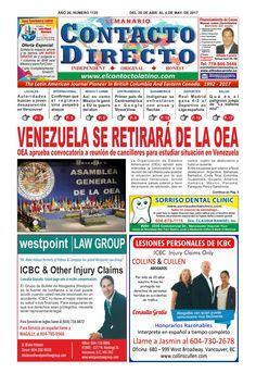 SEMANARIO CONTACTO DIRECTO EDICIÓN  04/28/2017