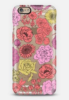 Floral Paradise iPhone 6 case by Kristin Nohe   Casetify