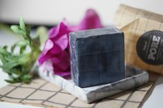 Klairs Gentle Black Sugar Charcoal Soap. Charcoal is great to reduce black heads. The soap leaves the skin dry and clean. I will reduce black heads very well with time.