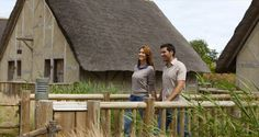 Les Iles de Clovis #PuyduFou #france #vendee #hotel #lac #ile