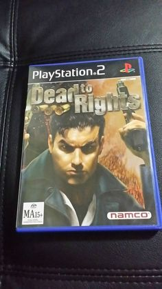 Dead to rights ps2 game - PAL complete  fast FREE postage  like new