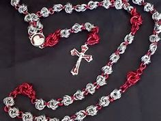 Image result for chainmaille rosary