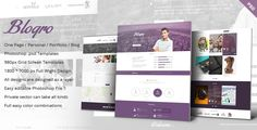 This Deals Blogro - One page Personal web designonline after you search a lot for where to buy